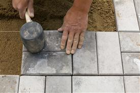 Wall Brick / Paver Installation